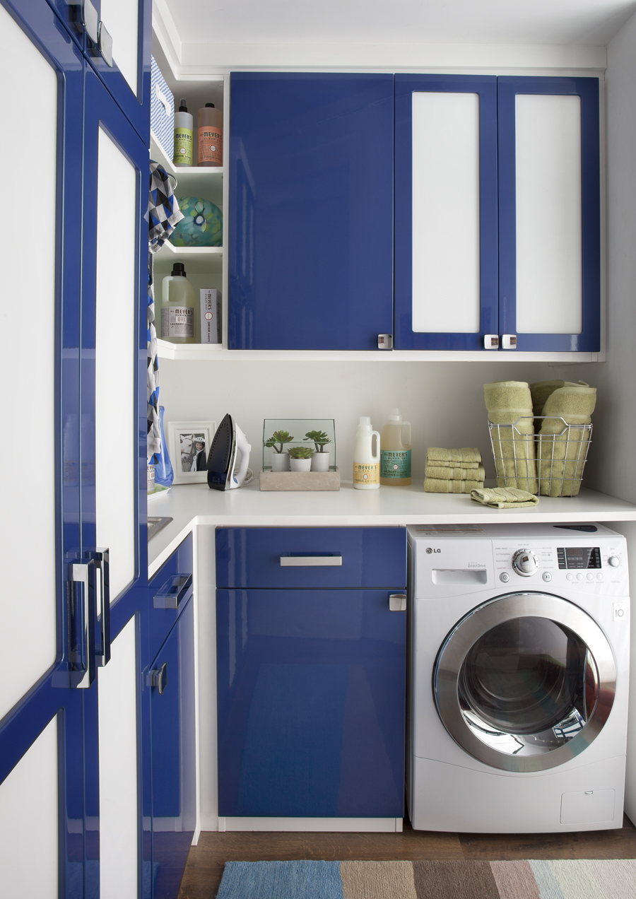 transFORM custom laundry room