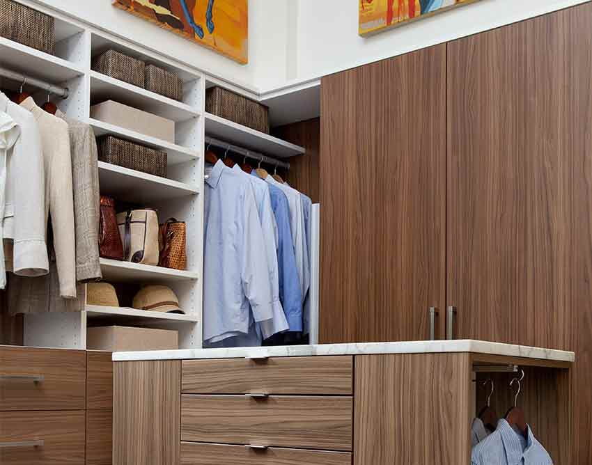 Walk In Closests Provide More Space And Depth Than A Standard Hanging Closet.  This Is A Great Alternative If You Donu0027t Have Enough Space To Accomodate A  ...