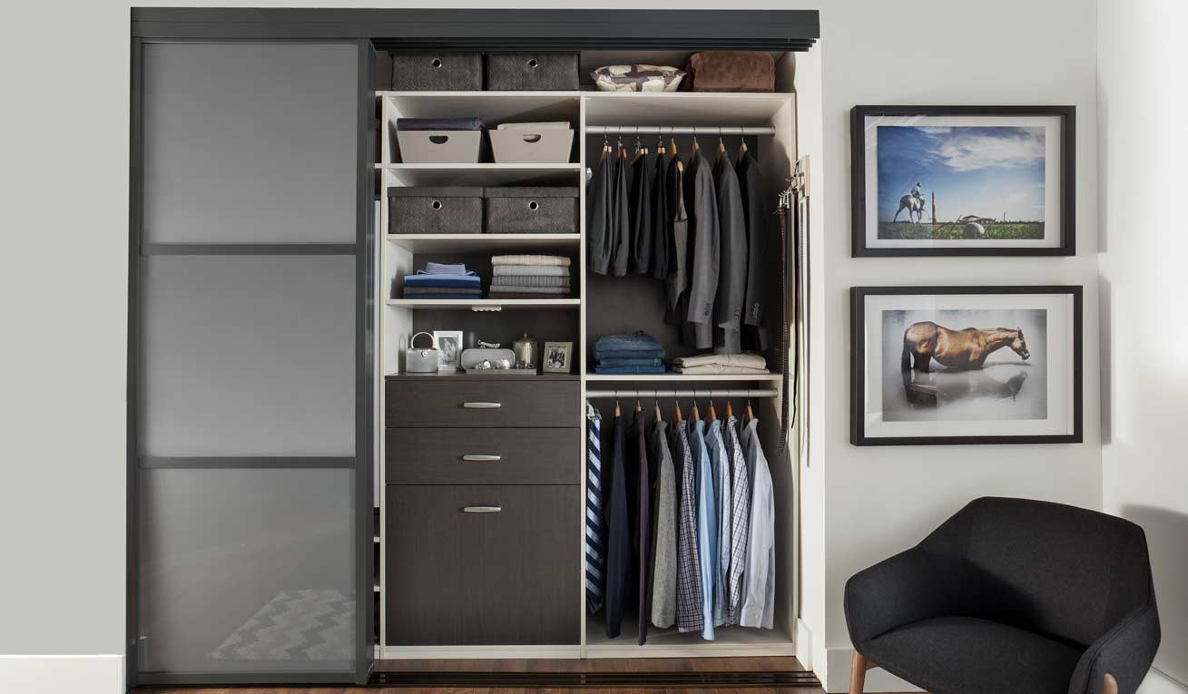 Transform custom closets for Transform small closet space
